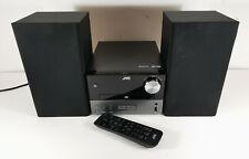More details for jvc ux-d327b cd mini micro traditional hi-fi system dab fm radio usb bluetooth