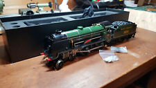 "ACE E/10 O gauge 2/3-Rail Schools 900 ""Eton""- Gloss Olive Green, Deflectors"