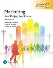 NEW 3 Days US Marketing Real People Real Choices 9E Solomon Marshall 9th Edition