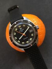 VINTAGE Nivada AQUAMAR Da Uomo Diver Watch 36,6mm