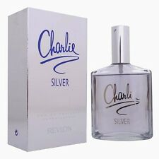 Charlie Silver by Revlon 3.4 oz EDT Perfume for Women New In Box