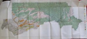 Soil Survey Map Northeastern Pennsylvania Scranton Williamsport Blossburg  1911