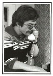 DENNIS McNALLY GRATEFUL DEAD  KEROUAC BIOGRAPHER BEAT WRITERS PHOTO POSTCARD 57