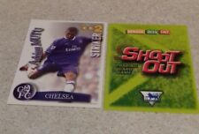 SHOOT OUT CARD 2003/04 (03/04) - Green Back - Chelsea - Adrian Mutu
