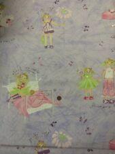 blumen mädchen pyjama party lila silber 100% baumwolle quilting craft fabric