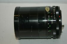 SUNAGOR MC 70-200 MM ZOOM LENS.  CANON FD   BAYONET   FITTING :