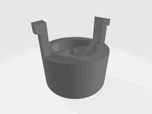 Mitsubishi Colt Handbrake Button Replacement (z34) Grey Spares DIY 3D Printed
