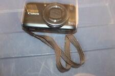 Canon PowerShot SX210 IS 14.1MP Digital Camera - Black BATTERY SD CARD HJ80