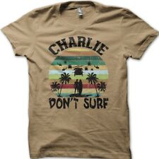 Apocalypse Now Charlie Don't Surf printed t-shirt 9033