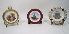 Gout De Ville and Other French Limoges China Tourist Miniatures Plates