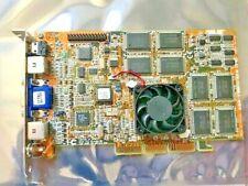 ASUS AGP V3800 ULTRA 32M NVIDIA GEFORCE2 32 MB AGP VIDEO CARD VR SVID COMP