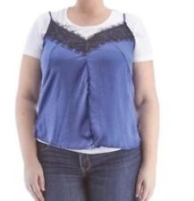NWT Junior Plus Size Poof 2- Piece Top.  Size: 3XL