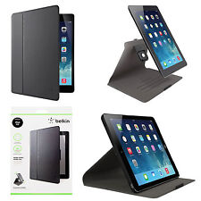 Genuine 360° Flip Case Book Case Cover Swivel Folio Stand Belkin For iPad Air
