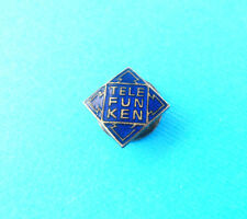 TELEFUNKEN - German radio & television apparatus ... old enamel buttonhole badge