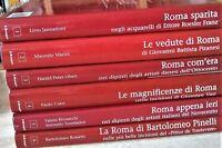 """COLLANA """"ROMA dal 1700 al 1900"""" 6 Volumi NEWTON COMPTON (biblioteca messaggero)"""