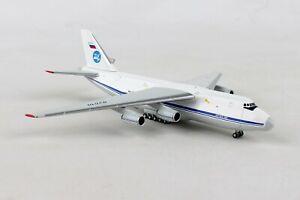 HE518413-001 HERPA WINGS 224 FLIGHT UNIT ANTONOV AN-124 1/500 DIE-CAST MODEL