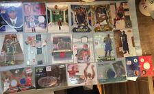 17 Jeu D'Occasion Auto Autographe # D Sp Basketball Carte Lot Débutant Stars