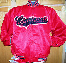 Classic Colosseum Satin Baseball Jacket - CINCINNATI BEARCATS - Ken Griffey, Jr.