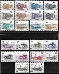 BELGIUM - PARCEL ¨POST STAMPS - YT CP 433 to 454**