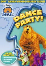 BEAR IN THE BIG BLUE HOUSE DANCE PARTY New Sealed DVD 3 Episodes
