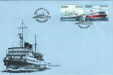 Aland Europe S/S Viking Boats Passenger Ferries Aland Finland FDC 2009