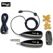 NEW Stagg SUW 10BC 2.4GHz UHF Small Instrument Microphone Set