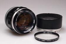 CANON FL 55mm 1:1.2 PRIME LENS W/HOOD EXCELLENT