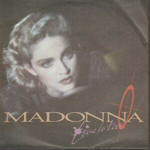 """Madonna Live To Tell 45T 7"""" 45 Tours SP Germany"""