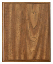 "Walnut Finish Blank Wood Plaque 6"" x 8"" FREE SHIPPING DCP368"