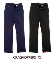 "Craghoppers Kiwi Winter Mens Cargo Walking Lined Trousers Black 40W x 33""Leg"