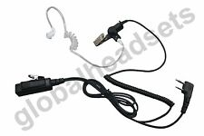 Replace Kenwood KHS-8BL Palm Microphone with Earphone Acoustic Tube for Pro Talk