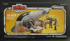 The Vintage Collection Boba Fett's Slave I Sealed IN Mailer Box Star Wars Retro