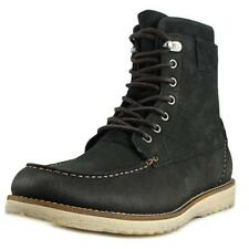 Scarpe da uomo stivali alla caviglia, chelsea camoscio nero