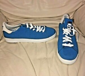 NEW Stan Smith Skateboarding Royal BLUE Size 9 - ADIDAS SNEAKERS Size 9
