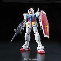RX-78-2 Gundam GUNPLA RG Real Grade Excitement Embodied Model Kit 1/144 BANDAI