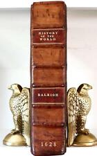 1628 THE HISTORIE OF THE WORLD SIR WALTER RALEGH RALEIGH FOLIO 14x9 ILLUSTRATED