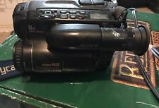 Sony CCD-TR81 Video Camera Hi8 Handycam For Parts/Not Working/Repair Bundle
