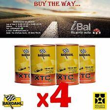OLIO MOTORE XTC C60 15W-50 4L (3+1 OMAGGIO) 324040 BARDAHL
