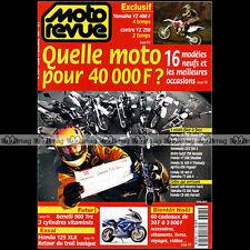 MOTO REVUE N°3307 YAMAHA YZ 400 XJ 600 DIVERSION TT R SUZUKI BANDIT HONDA XR 400