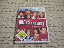 Grey 's Anatomy the video game pour nintendo wii et wii u * OVP *