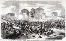 BATTAGLIA DI BOFFALORA SOPRA TICINO e Morte del Generale Cler. Risorgimento.1859