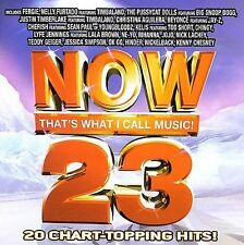 NOW That's What I Call Music 23 - Fergie,Beyonce,Rihanna,Chesney / 2006 CD Album