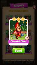 X1 Cheerful Chad Coin Master trading card !!!Super Fast Dispatch!!!