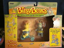 Tyco Bitsy Bears Hopsy and Skipples Sealed Set