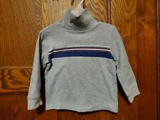 New listing Boys Toddler Baby Children's Size 2T turtleneck long sleeve shirt rugby stripe