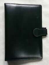 File Organiser Leather NEW BLACK STANDARD PERSONAL 25mm Diameter