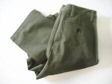 Dockers Mens D2 Straight Fit Washed Khaki Stretch Pants Olive Sz 29x30 - NWT