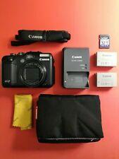 Canon PowerShot G12 10.0MP Digital Camera - Soft Case Extra Battery 32GB SD Card