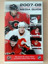 2007-2008 Calgary Flames Media Guide. Jarome Iginla, Dion Phaneuf, Alex Tanguay.
