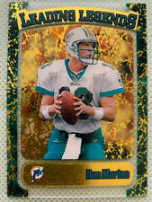 1998 Topps Leading Legends ~ DAN MARINO ~ Miami Dolphins SP Holo Insert Card